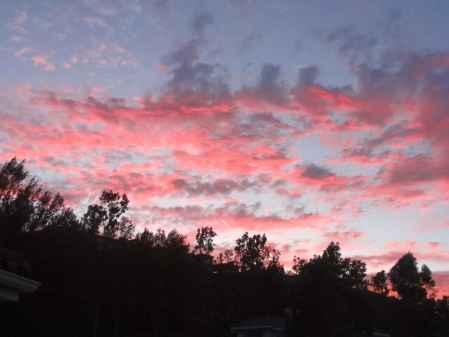 Anaheim Hills Sunset