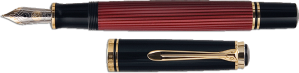 pelikan-600-fountain-pen-red-POP